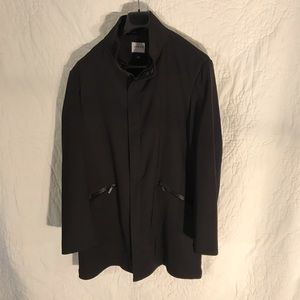 Armani Men's Technical Stretch Trenchcoat Size 40